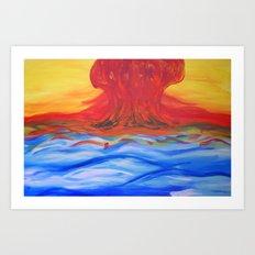 Counterharmony. Art Print
