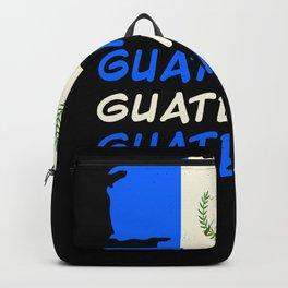 Guatemala Flag Guatemalan Guatemalans Backpack