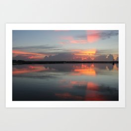 Sunrise in Church's Creek Art Print