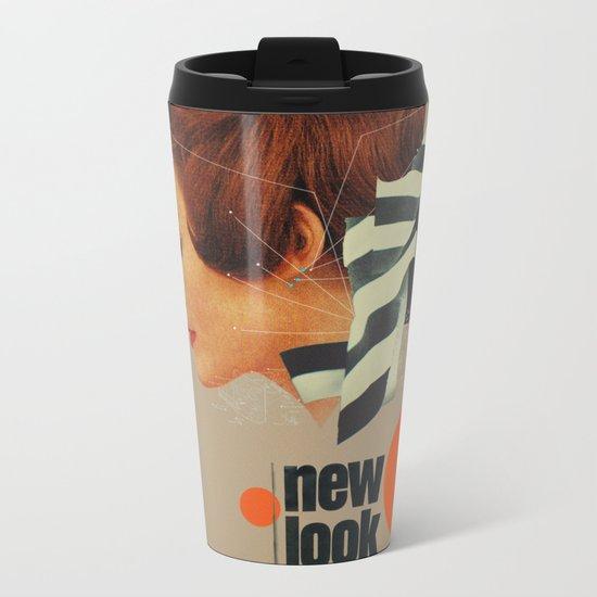 New Look Metal Travel Mug