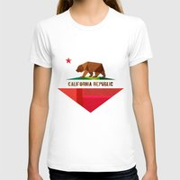 christmas T-shirts featuring California by Fimbis
