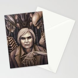 Giger Portrait Stationery Cards