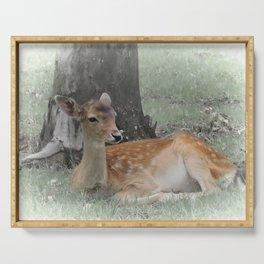 Forest deer Serving Tray