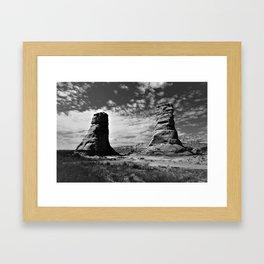 Baby Rocks Framed Art Print