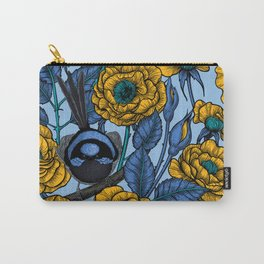 Wren in the roses Carry-All Pouch