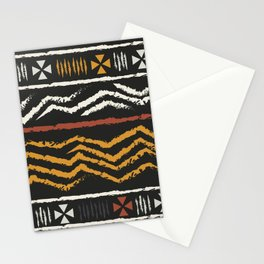 African Tribal Pattern No. 84 Stationery Cards