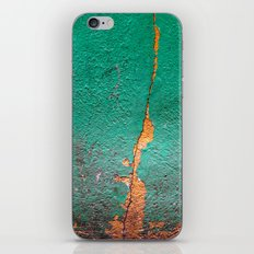 Cracked wall iPhone & iPod Skin