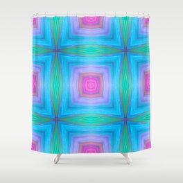 bubbles 7 boxes Shower Curtain