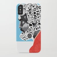 kubrick iPhone & iPod Cases featuring Stan the Man: Stanley Kubrick by kelsea everett