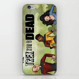 The Trekking Dead iPhone Skin