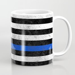 Thin Blue Line Flag 2 Coffee Mug