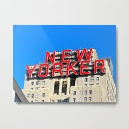 Native New Yorker Metal Print
