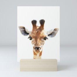 Baby Giraffe Art Mini Art Print