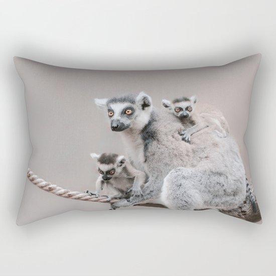 LEMURS by Monika Strigel Rectangular Pillow