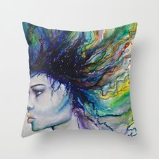Let go of old dreams Throw Pillow