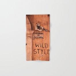 Valencia Tags, Wild Style Hand & Bath Towel