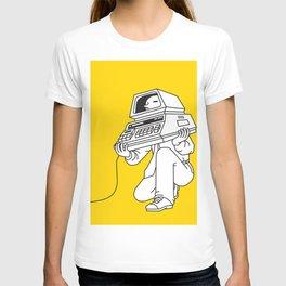 Computer head T-shirt