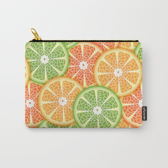 Citruses Carry-All Pouch