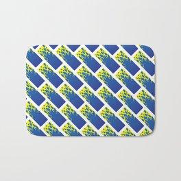 Water Tiles Bath Mat