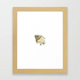 Hufflepug Framed Art Print