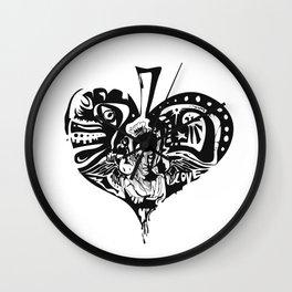 Heartbreaker Wall Clock
