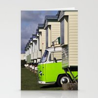 vw bus Stationery Cards featuring Vdub VW Bus by Rainer Steinke