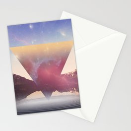 When The Nebula Hits Stationery Cards