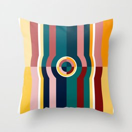 Long Wait Throw Pillow