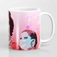 rocky horror picture show Mugs featuring The Rocky Horror Picture Show - Pop Art by William Cuccio aka WCSmack