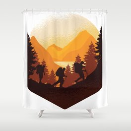 Funny Wander Fashion. All who love nature will love it Shower Curtain
