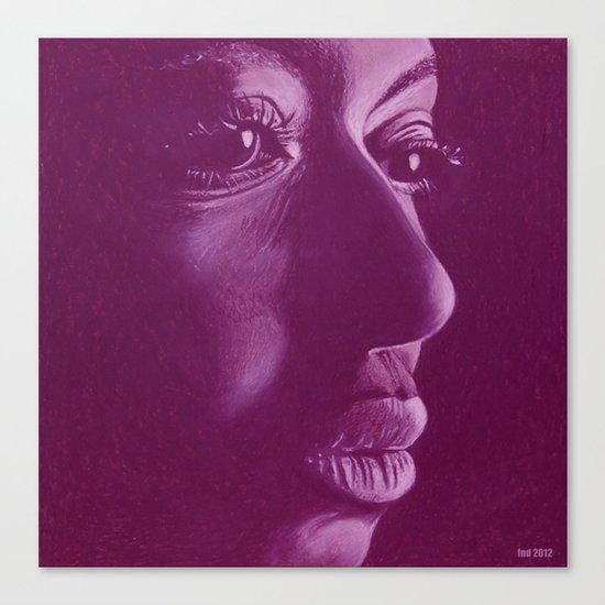 mama africa-violet Canvas Print
