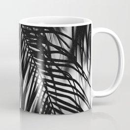 palm tree curtain Coffee Mug