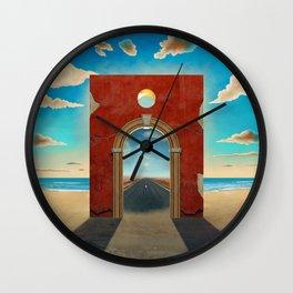 Arch Gate Wall Clock