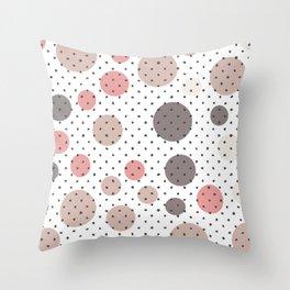 Scandinavian pattern design Throw Pillow