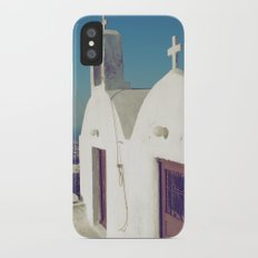 Santorini Churches II Slim Case iPhone X