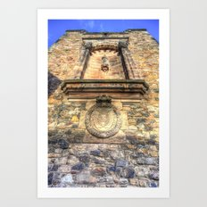 Edinburgh Castle Royal Airforce Art Print