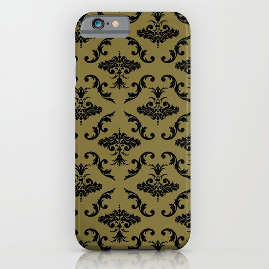Gold Damask iPhone & iPod Case