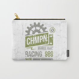 Emblem racing club in retro style Carry-All Pouch