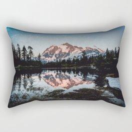 End of Days - Nature Photography Rectangular Pillow