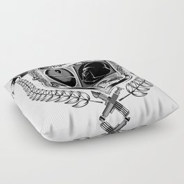Family Coat of Arms Floor Pillow