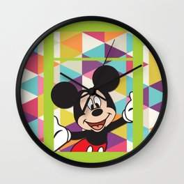 Mickey Mouse No. 11 Wall Clock