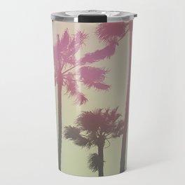 Californian Palm Trees Travel Mug