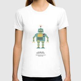 Robots love more logical. T-shirt