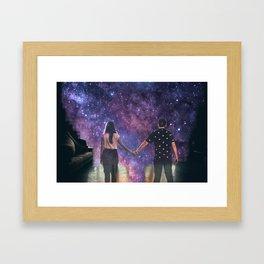 The Breakup Framed Art Print