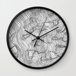 Vertigo Adrift (Vector) Wall Clock