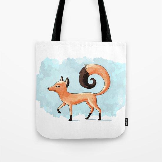 Proud Fox Tote Bag