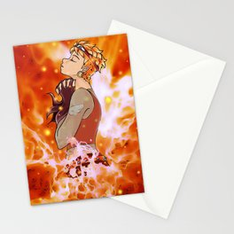 In Flames Stationery Cards