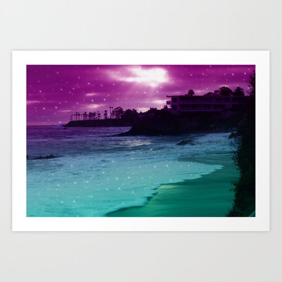 counting stars  Art Print