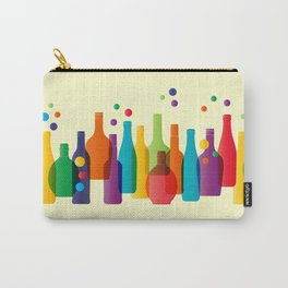 Colored bottles Carry-All Pouch