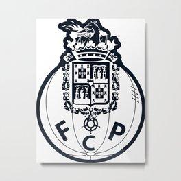 FC Porto Blue crest Metal Print